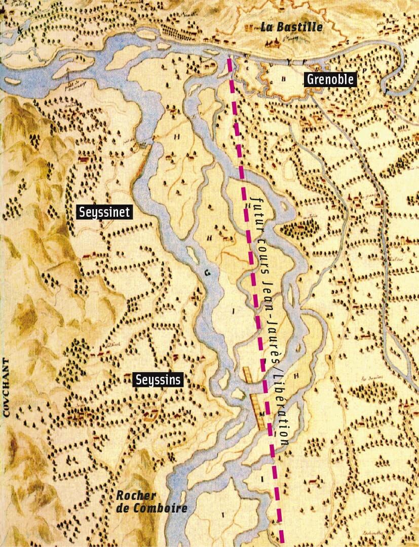 plan-nommela-tiberiade-du-torran-du-drac--execute-par-lingenieur-savoye-et-conserve-aux-archives-departementales-de-lisere