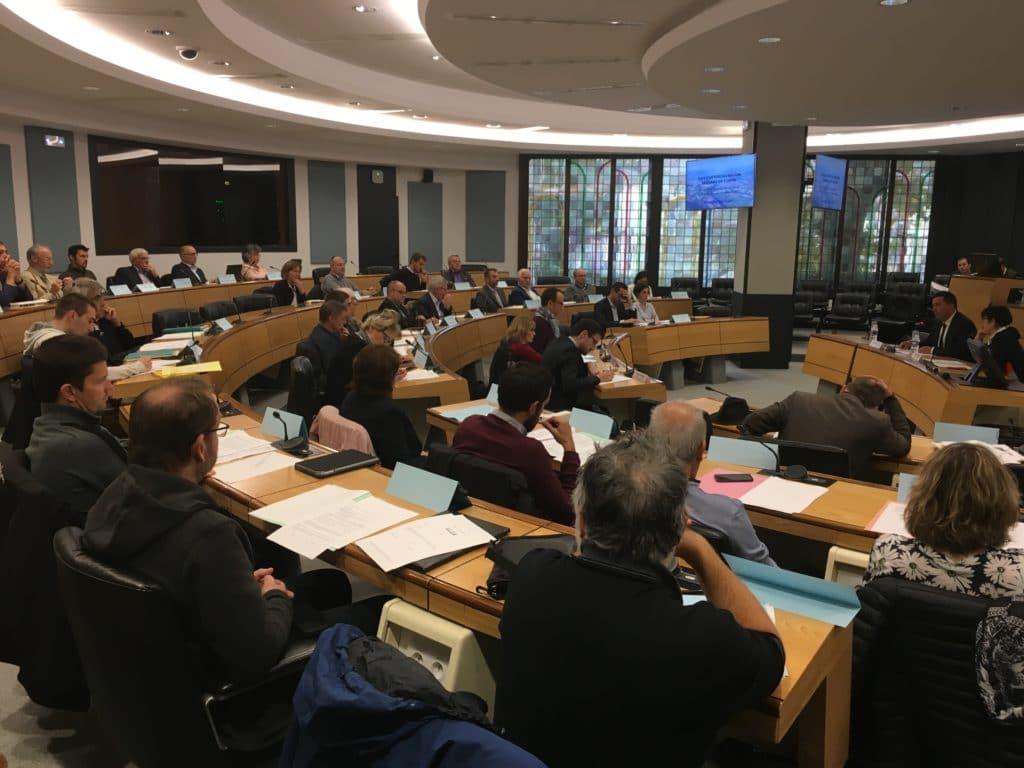 Assemblée de création de l'association de préfiguration de l'EPTB Isère - Octobre 2017