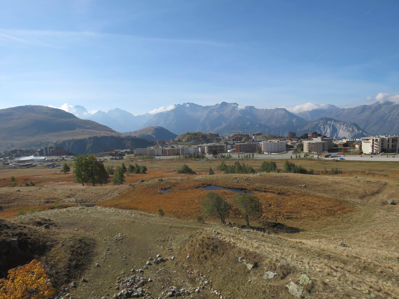 tourbière et station de ski
