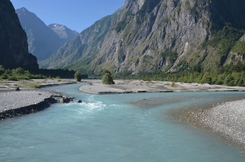 rivière en tresse